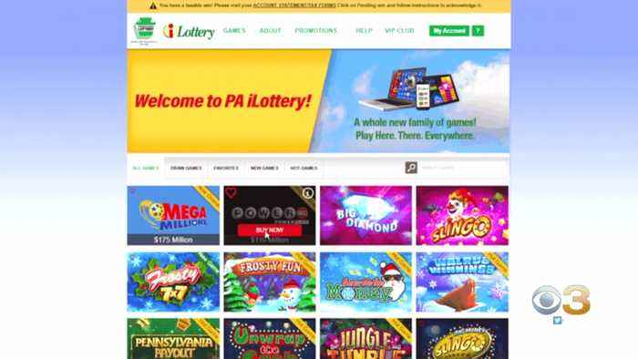 PA Lottery Tickets Now Available Online