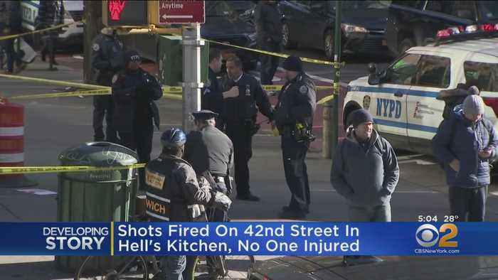 Police Questioning 1 Person In Connection To Shooting In Hell's Kitchen