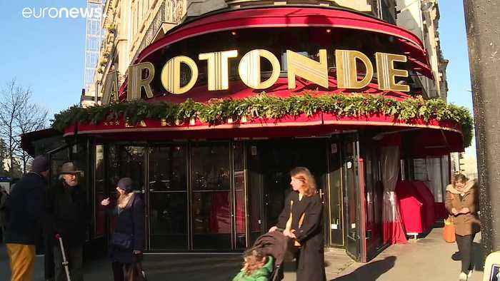 Blaze at Macron-visited Paris restaurant as pension protests continue