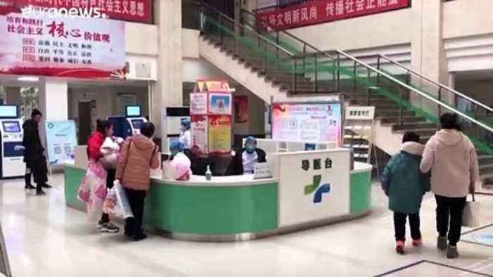 Airline passengers traveling from China screened for new coronavirus