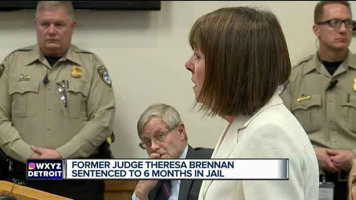 Former Judge Theresa Brennan sentenced to 6 months jail for perjury guilty plea