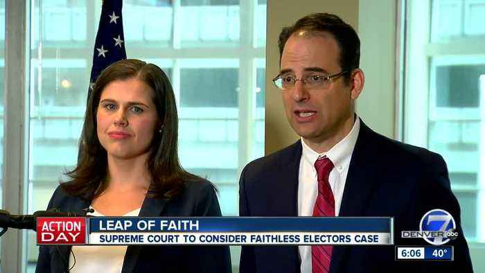 US Supreme Court agrees to take up Colorado's 'faithless electors' case