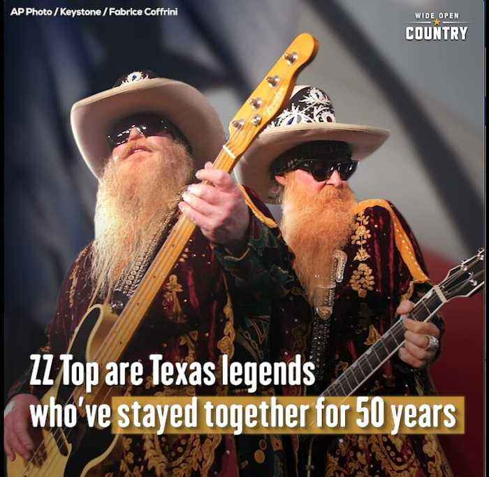 ZZ Top are Texas Legends Who've Stayed Together for 50 Years
