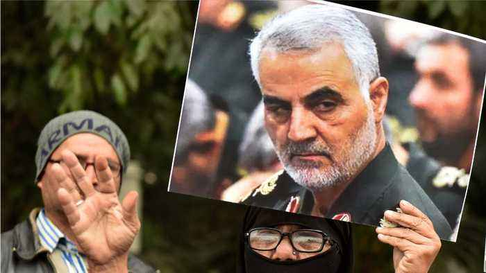 Trump gives details of moments before Qassem Soleimani died