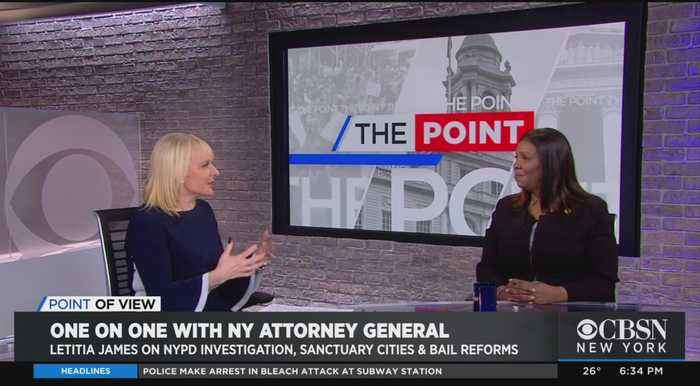 Point Of View: New York Attorney General Letitia James Talks NYPD Probe & More
