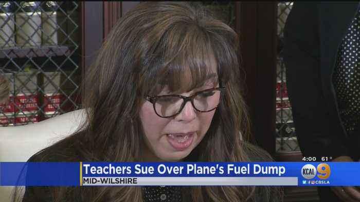 LAUSD Teachers Affected By Jet Fuel Dump File Lawsuit Against Delta Airlines