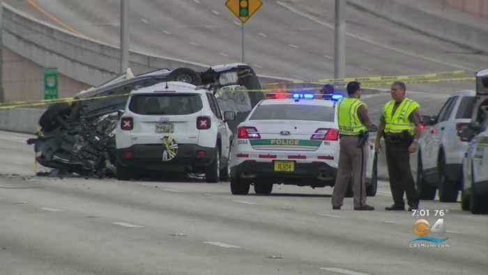 Fatal Wrong Way Crash On Don Shula Expressway