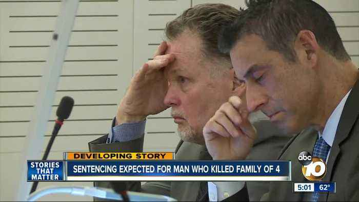 Sentencing expected for man who killed Fallbrook family
