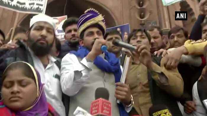 Bhim Army chief urges people from all religions to join anti CAA protests