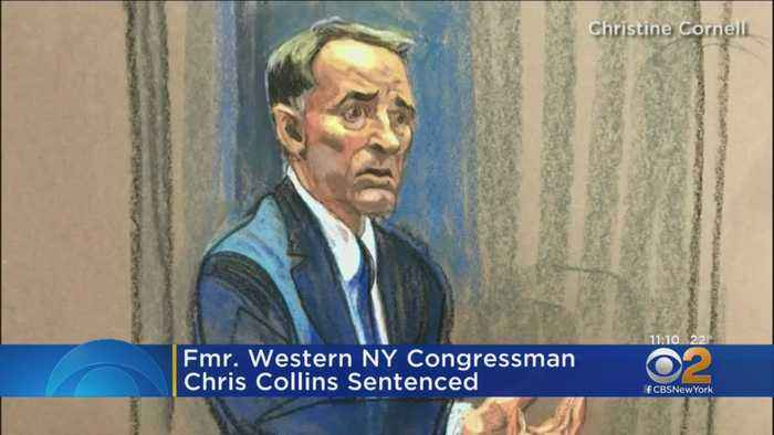Former Western NY Congressman Chris Collins Sentenced