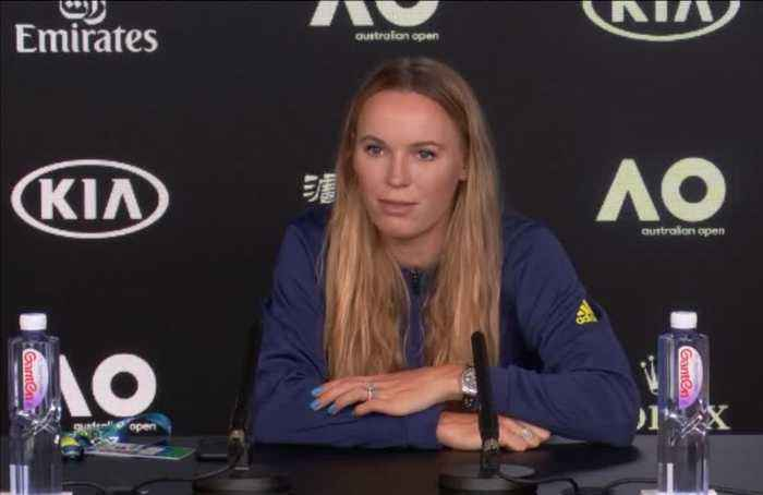 Wozniacki prepares for final tournament