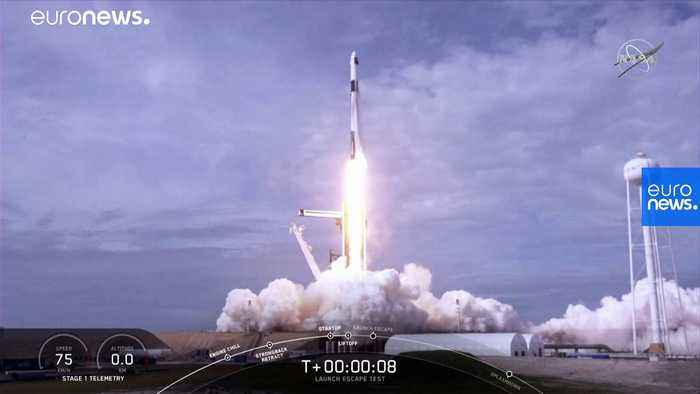 Watch: Elon Musk's SpaceX successfully tests emergency capsule for astronauts