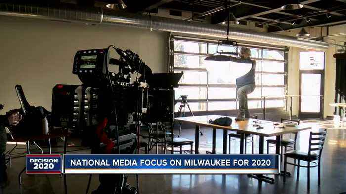National media organizations focus on Milwaukee in preparation for the DNC