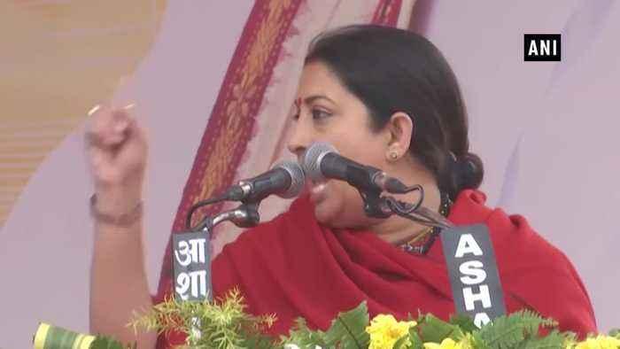 Indira Gandhi put Vajpayee in jail during emergency set Karil Lala free Smriti Irani