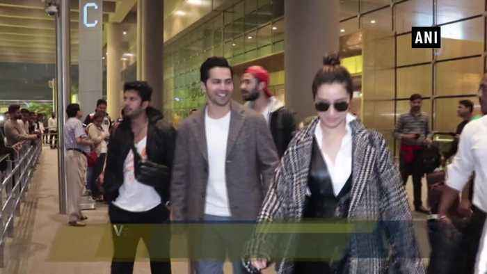 Varun Dhawan, Shraddha Kapoor promote Street Dancer 3