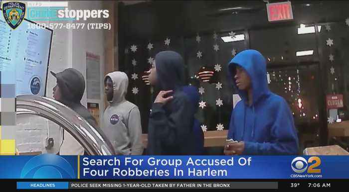 Police: Group Of Suspects Robs 4 People In 1 Hour In Harlem