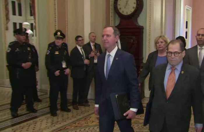 Democrats call Trump a national security risk before Senate trial