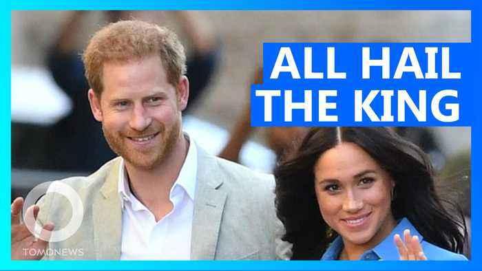 Burger King offers Prince Harry a job