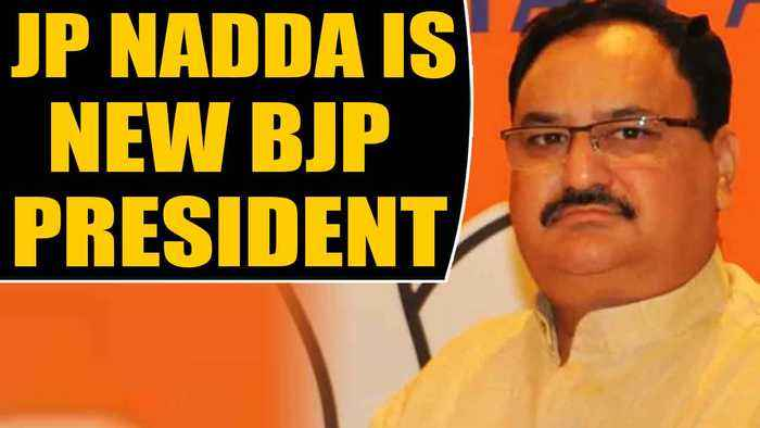 JP Nadda takes over as new BJP President, Amit Shah hands over reins| OneIndia News