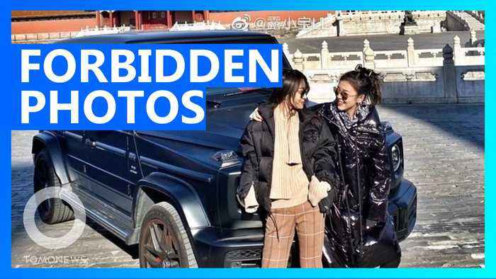 Rich woman angers China with Forbidden City photoshoot