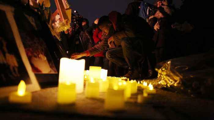 Remains Of Ukrainians Killed In Iran Plane Crash Returned Home