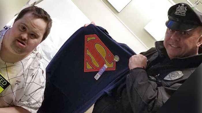 Real-Life Superhero Returns Beloved Items to Hospital Patient