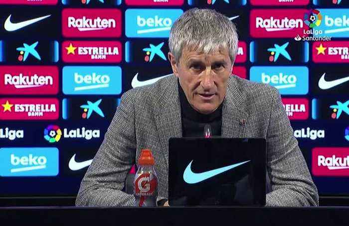 Setien gets first win with Barca after late Messi goal
