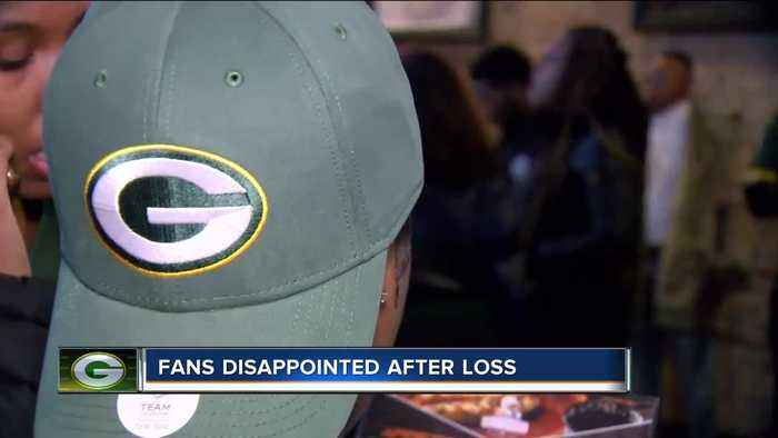Fans were heartbroken after the Packers lost in San Francisco on Sunday.