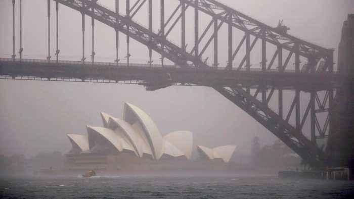 Heavy rains lash Australia, flooding fire-ravaged areas