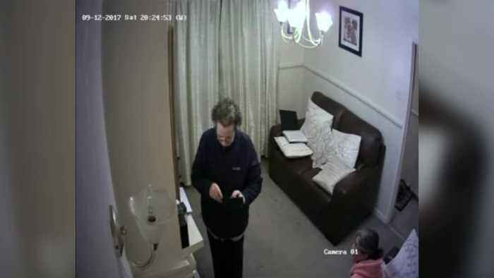 Son devastated after witnessing carer steal from his elderly sick mother