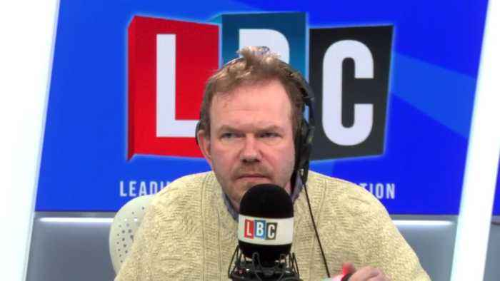 James O'Brien deals with troll who says men can't resist 'schoolgirls'