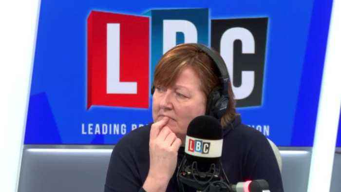 Shelagh Fogarty accuses caller of being 'hard-hearted and wrong' over Meghan and Harry