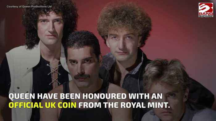 Queen become first band ever to be honored on UK coin