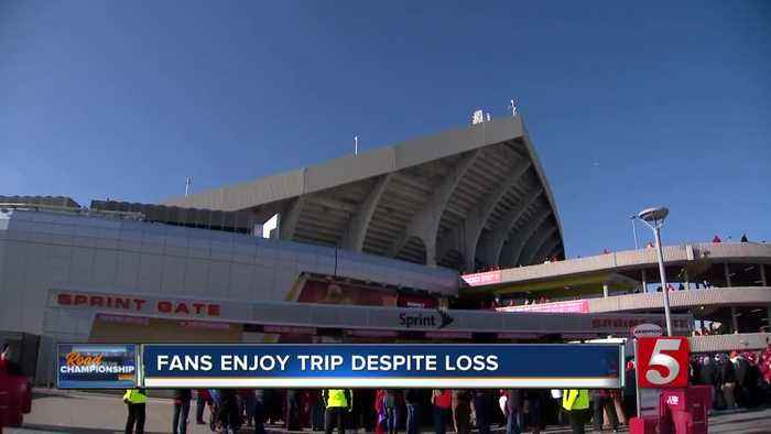 Titans fans returning home following heartbreaking loss