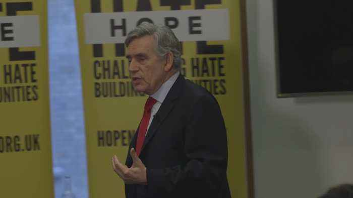 Gordon Brown says people not at ease with country