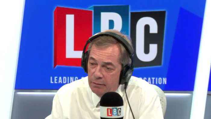 Passionate caller makes case against 'ludicrous' HS2 to Nigel Farage