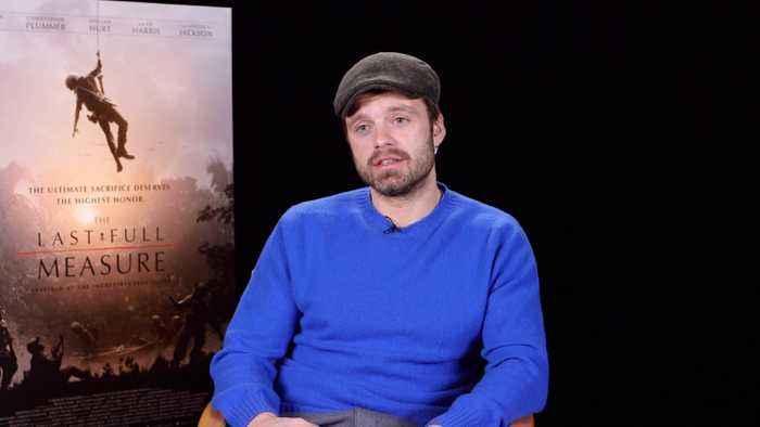 Sebastian Stan Talks 'The Falcon And The Winter Soldier' & New Movie 'The Last Full Measure'