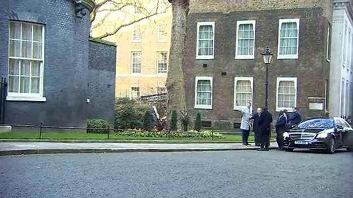 Johnson welcomes Kenyatta to Downing Street