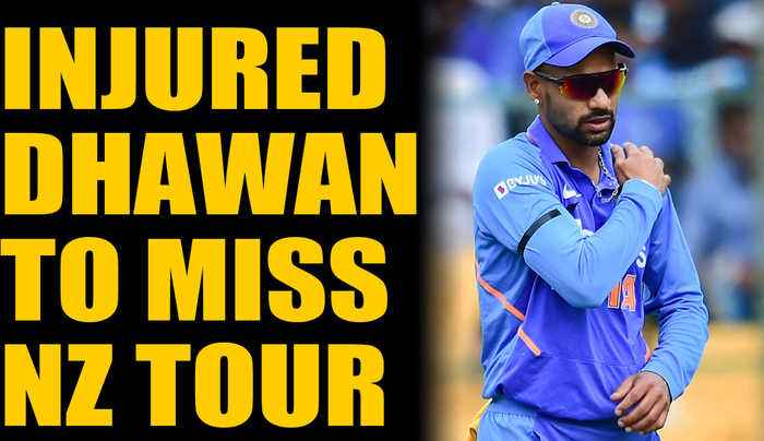 SHIKHAR DHAWAN RULED OUT OF INDIA'S NEW ZEALAND TOUR | Oneindia News