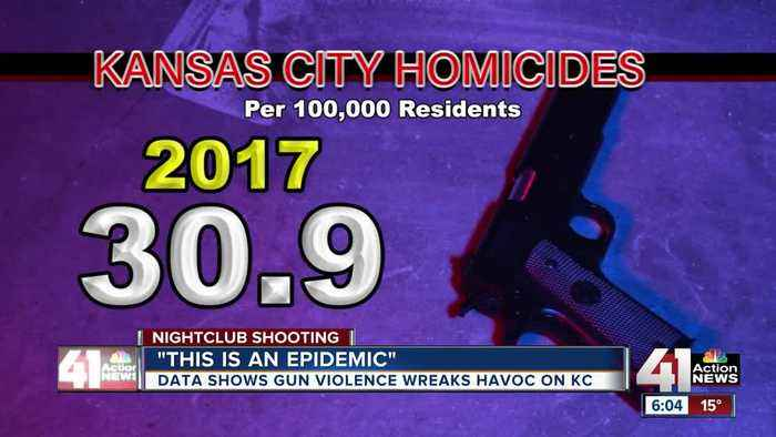 Nightclub mass shooting comes after violent 2019 in Kansas City