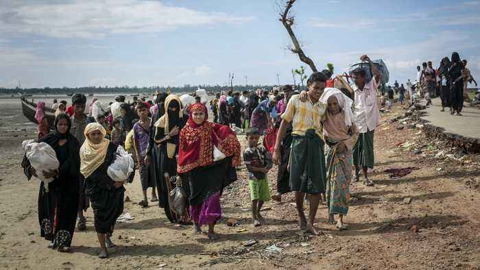 Myanmar Commission Finds No Evidence Of Genocide Against Rohingya