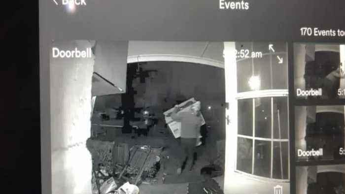 Alleged Burglar Spends 12 Hours in Oklahoma Home