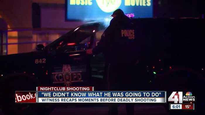 Bouncer recalls 'chaotic' scene at nightclub shooting