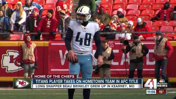 Kearney native heads to Arrowhead as a member of the Titans
