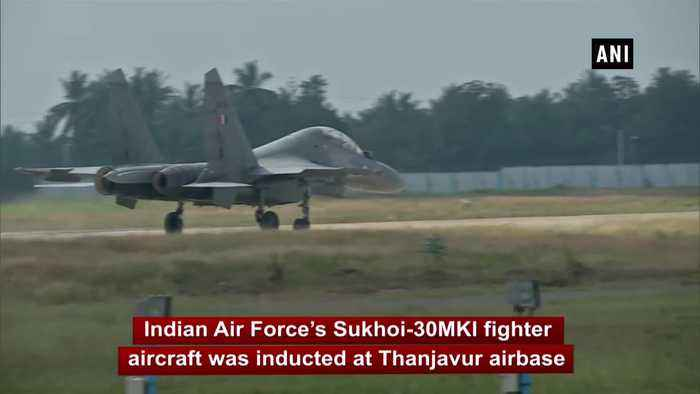 IAF inducts BrahMos-armed Sukhoi-30MKI fighter squadron at Tamil Nadu Thanjavur