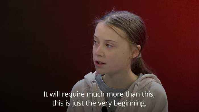Greta Thunberg tells Davos climate summit: This is just the very beginning