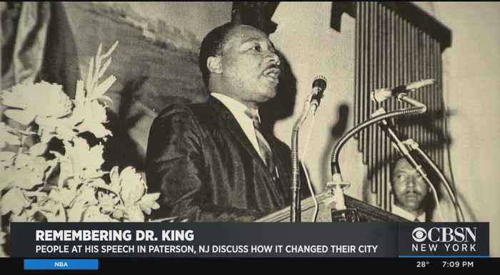 Community Remembers MLK's Speech At Paterson Church
