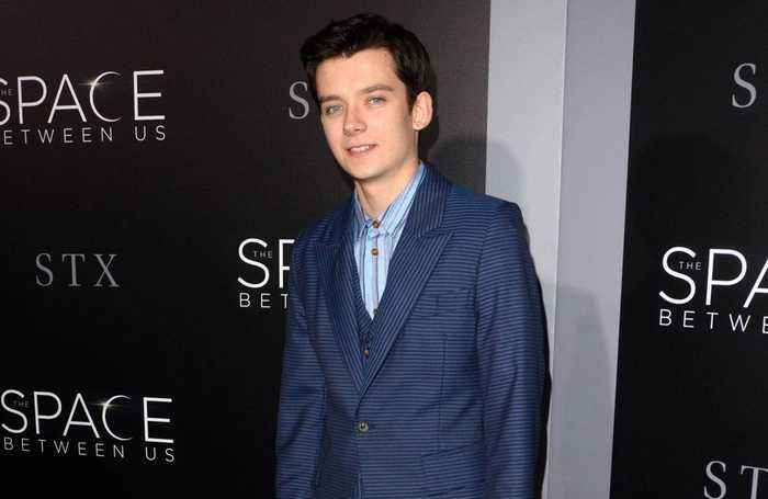 Asa Butterfield feels more confident 'talking about sex.'