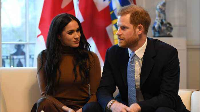Prince Harry Arrives In Canada