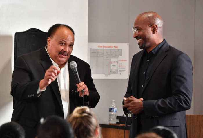 Martin Luther King III Unsure if Donald Trump's MLK Day Tweets Are 'Accurate'